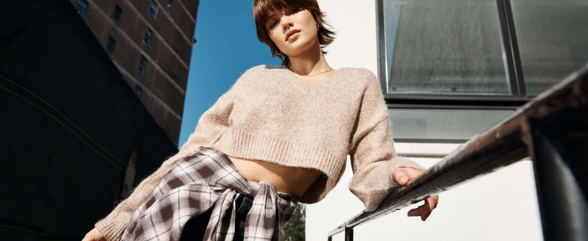 Models wearing Garage clothing.