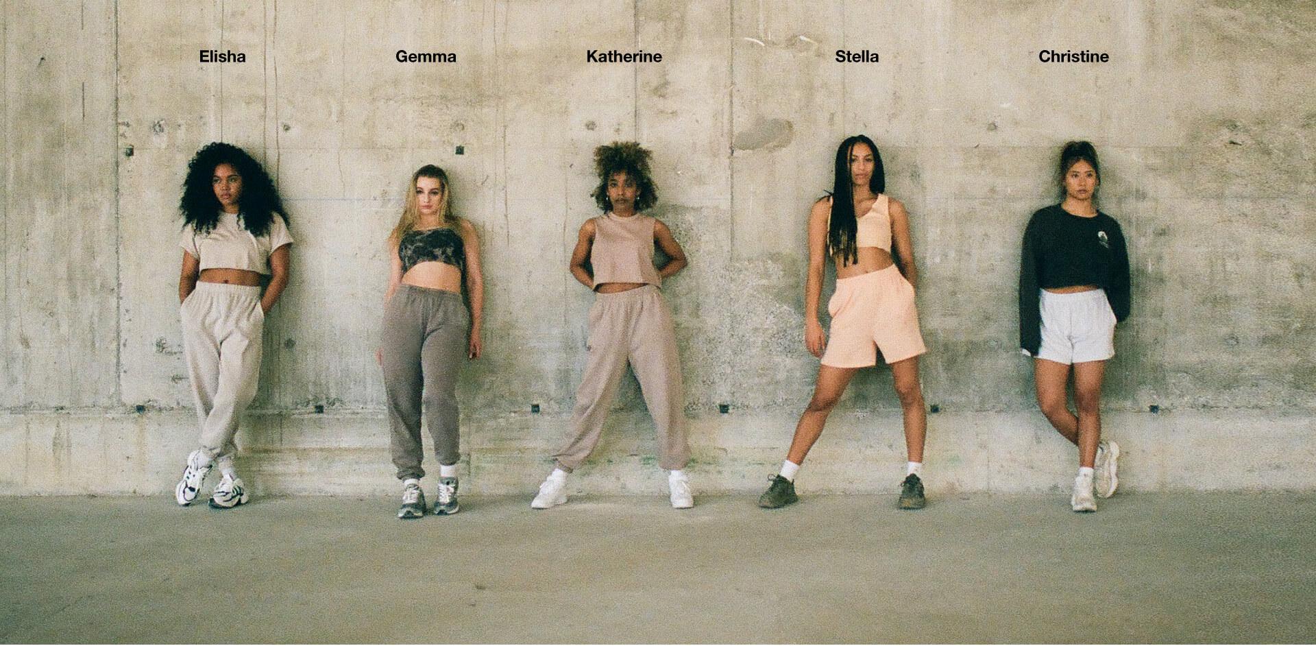 Elisha, Gemma, Katherine, Stella and Christine